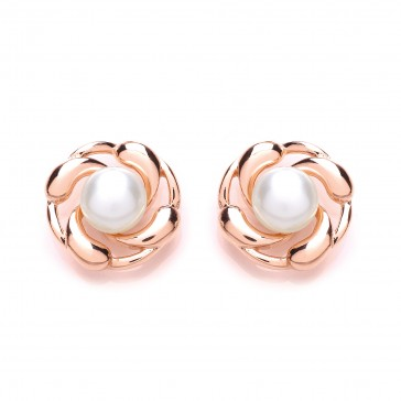 RGP Silver Earrings FWP Studs
