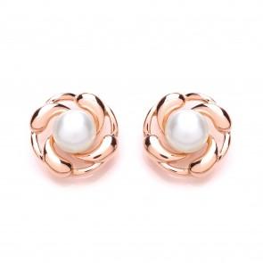 RGP Silver Earrings FWP Studs
