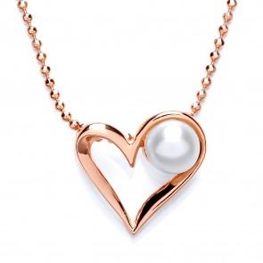 RGP Silver Pendant FWP Heart