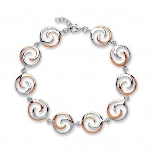 RP/RGP Silver Bracelet Circles