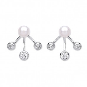 RP Silver Earrings FF FWP/CZ Enhancer