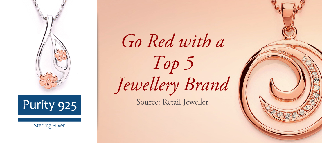 Go Red with a Top 5 Jewellery Brand